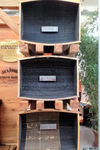 Barrels At The Jack Daniel's Stand