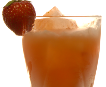 Strawberry Swing & Faude Rhubarb Liqueur